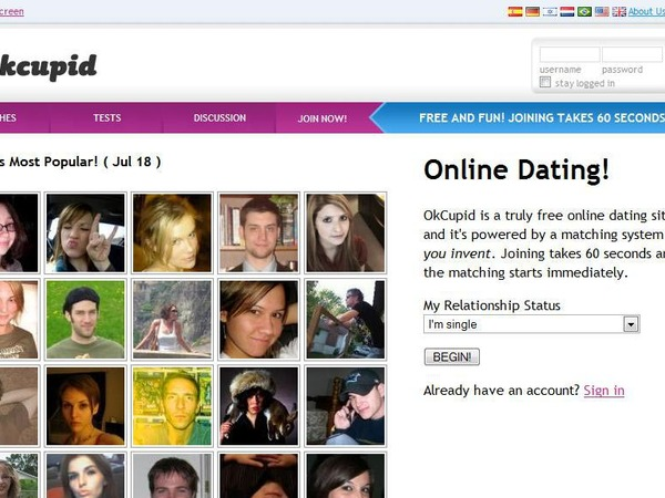 Best dating websites okcupid