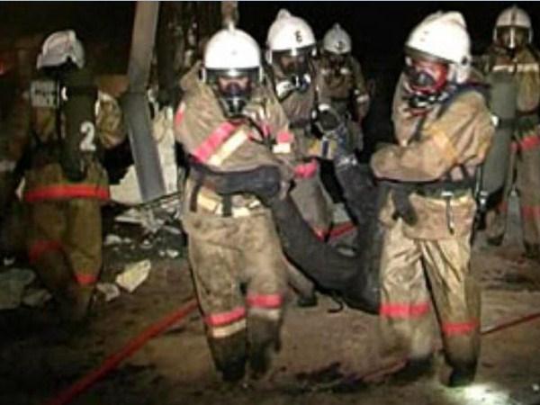 Пожаре погибла семья из трех человек