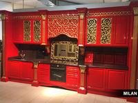 Мебельная фабрика Milan выпустила кухню в стиле ар-деко