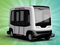 В Голландии испытали беспилотные автобусы