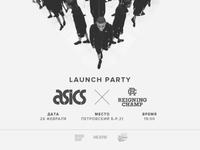 Brandshop проведет вечеринку в честь начала продаж ASICS x Reigning Champ