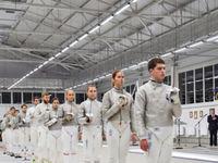 Петр Порошенко поучаствовал в открытии нового фехтовального зала