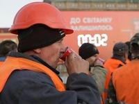 NESCAFE угостили чашкой кофе строителей в Киеве