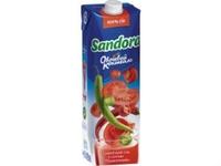 «Сандора» представила новые соки из коктейля овощей