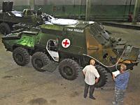 Десантники 79 АМБ, участвующие в АТО, получат бронированную «скорую»