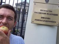 После запрета Россельхознадзора на ввоз польских фруктов, в Польше стартовал яблочный флэшмоб
