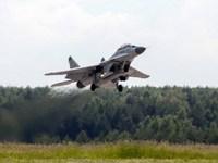 Самолет Миг-29 разбился в Белоруссии