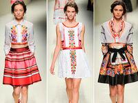 Новую коллекцию вышиванок представил дизайнерский дом Valentino
