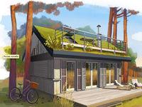 Украинец создал проект бюджетных загородных домиков