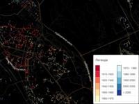 Онлайн-карта Киева отобразит давность постройки домов