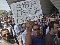 В Париже запретили Uber