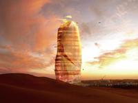 В Сахаре построят 450-метровый «зеленый» небоскреб