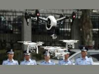 Китайская полиция начала применять дронов