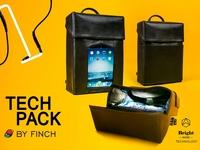 Бренд из Николаева Finch представил «умный рюкзак»