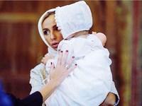 Навка и Песков крестили дочку Надю