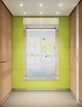 Пассажирский лифт KONE MonoSpace 500