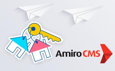 Amiro.CMS: два независимых сайта на одном лицензионном ключе