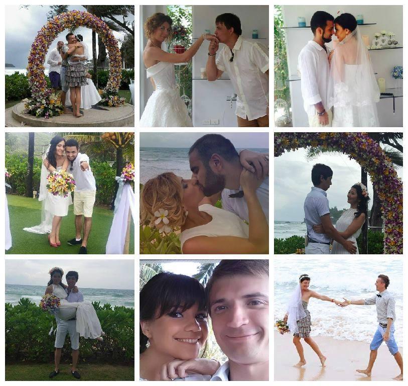 На Пхукете состоялась уникальная свадьба от проекта ROMANTIC THAILAND
