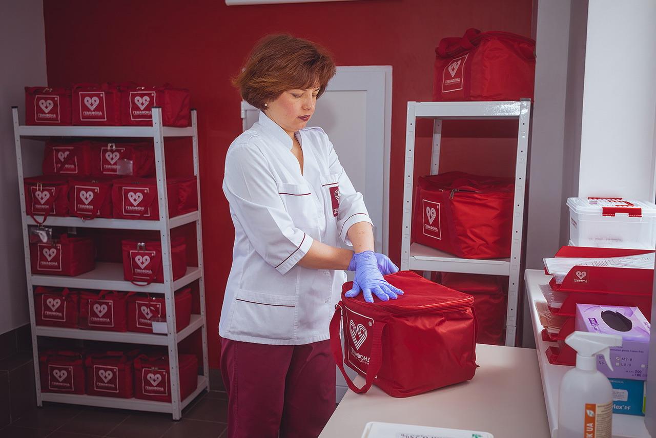 Семейный банк пуповинной крови «ГЕМАФОНД» принял на хранение депозит пуповинной кров из зоны АТО