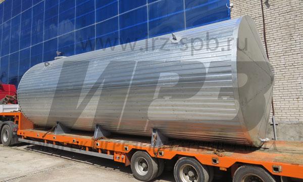 резервуар РГ50 одностенный наземный для хранения пресной воды