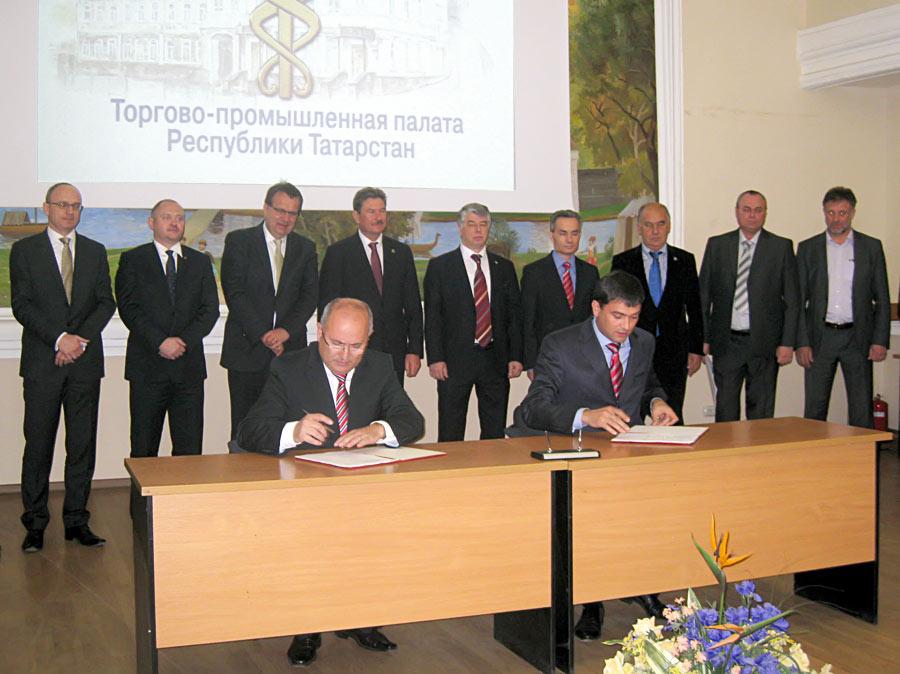 Фирма FAVEA и ОАО Татхимфармпрепараты подписали договор на создание производства мазей