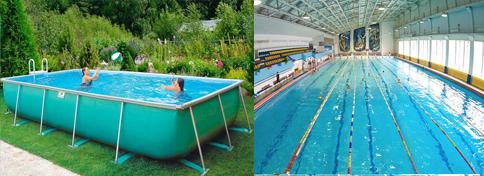 Строительство бассейнов для дачи