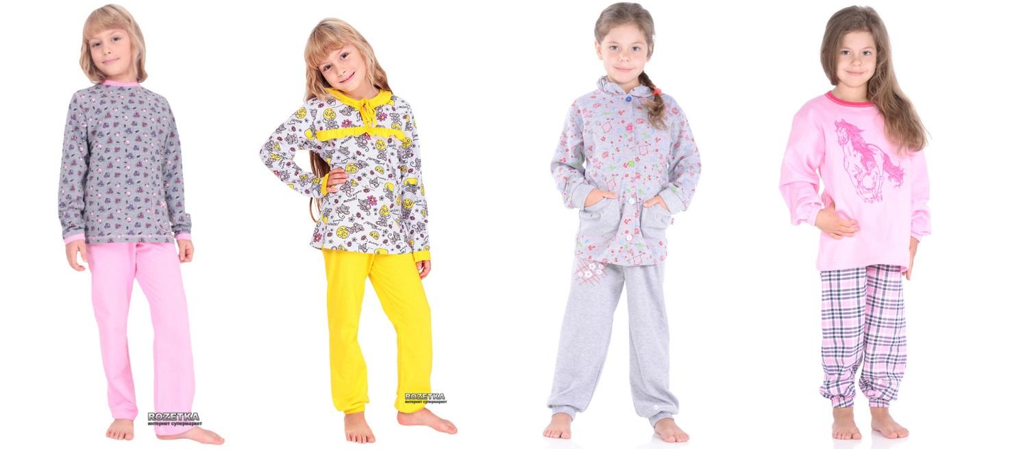 «Розетка» обновила ассортимент детских пижам 104bb19482494